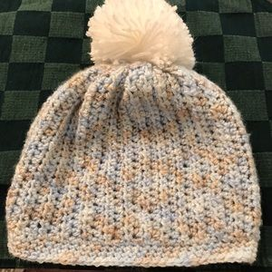 Other - Girl's Hand Crocheted Beanie